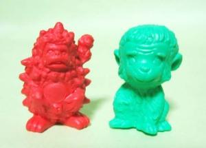 怪獣消しゴム/ロボット・ピグとモンキー