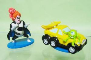 プチトイズ/ピクサー「シンドロームとジャック・ジャック」「マイクの新車」