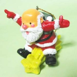 高島屋チャリティ・オーナメント「ファーザー・クリスマス2001」