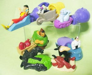 Happy Meal toy / The Emperor's New Groove  (2000)