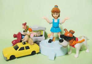 McDonalds Happy Meal Toy (UK/1997)/ Walt Disney Oliver & Company