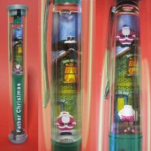 タカシマヤ・オリジナル「ファーザー・クリスマス」ペン(緑)2005