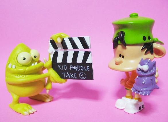 """Kid Paddle"" PVC by PLASTOY"