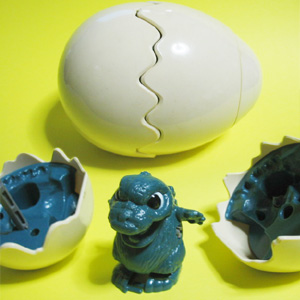 Wind-up Hatching Godzilla (1988/TAKARA JAPAN)