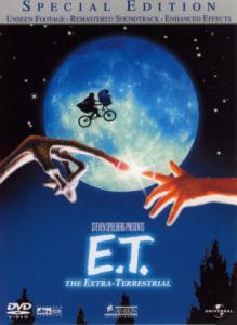 DVD『E.T. スペシャルエディション』ジャケット