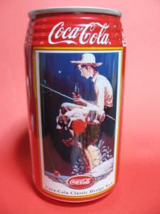 コーラ120周年記念缶「Coca-Cola Classic design No.4」ノーマン・ロックウェル