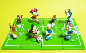 サークルKサンクス限定/つながるディズニーキャラクターサッカーフィギュア