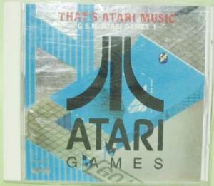 """CD """"THAT'S ATARI MUSIC"""""""