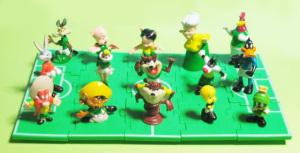 Looney tunes Soccer field (1998)