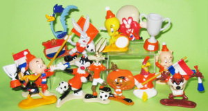 Looney tunes World cup 1998 by TEXACO France