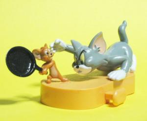 Quickミールトイ『トムとジェリー』/フライパン攻撃(1999)