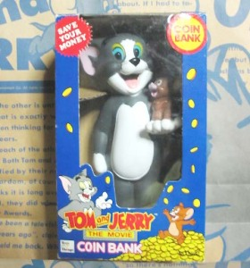 TOM and JERRY :The Movie/ Bank by Toys'n Things(1992)
