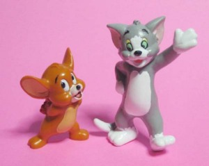 PVC/ TOM and JERRY The Movie(1992) by Applause