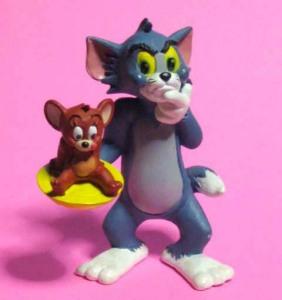 TOM and JERRY / PVC figure /COMICSPAIN (1986)