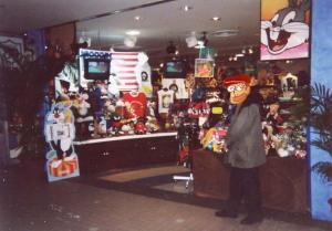 ワーナー・ストア以前にあったキャラクターショップ(95年撮影)