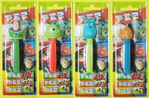 PEZ / Best of Disney Pixar / Buzz, Mike, Sulley, Nemo.