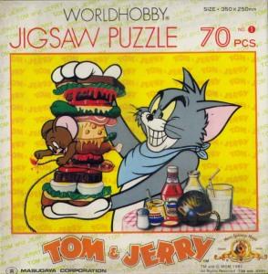 ジグソーパズル「トムとジェリー」70pcs no.1 by 増田屋コーポレーション
