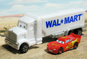 PEZ / WALMART TRUCK NEW