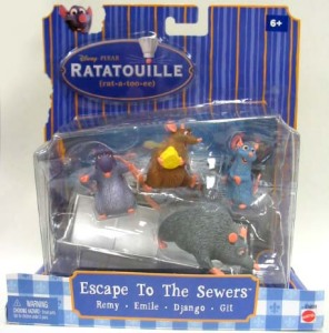 Movie Momnents / Escape to The Sewers / by Mattel