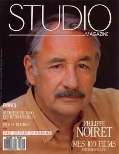 French Movie Magazine STUDIO MAGAZINE no.30 1989 / PHILIPPE NOIRET mes 100 films