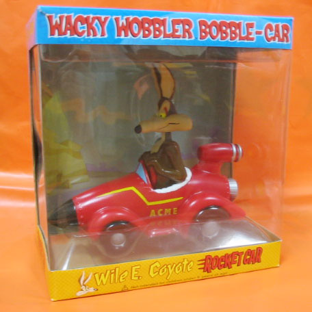 WACKY WOBBLER BOBBLE-CAR / WILE.E.COYOTE Rocket Car