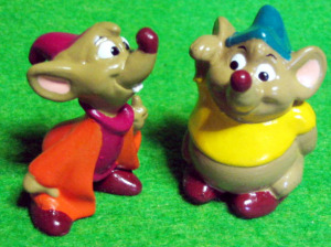 PVC figurine/ Cinderella / Jaq and Gus