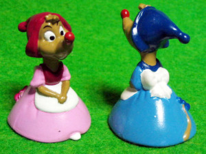 PVC figurine/ Cinderella / Lady mice
