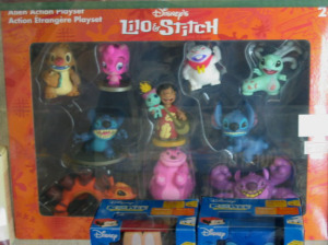 Lilo and Stich PVC figurin set version 3 package