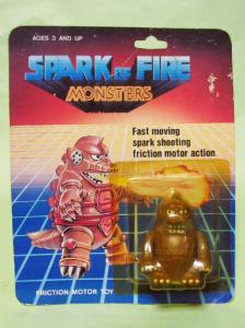 SPARK OF FIRE MONSTERS / Mechagodzilla (copycat)
