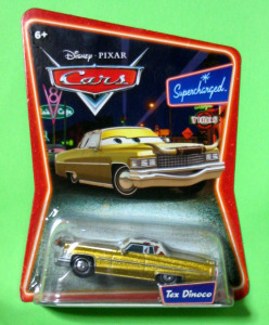 Disney Cars Supercharged / Tex Dinoco Dinaco