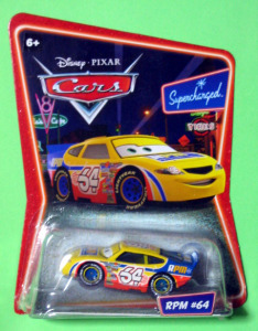Disney Cars Supercharged / RPM #64