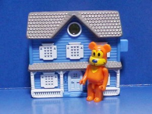 Bear in the Big Blue House / Viewer Toy with mini bear brick (customize)