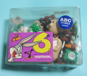 PVC figurine set / LOONEY TUNES GOLF (1994) by applause