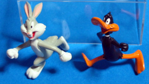 SOFT JACKS / Looney Tunes / Bugs Bunny and Daffy Duck