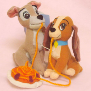 Plush / Lady and Tramp (2000) / by SEGA JAPAN