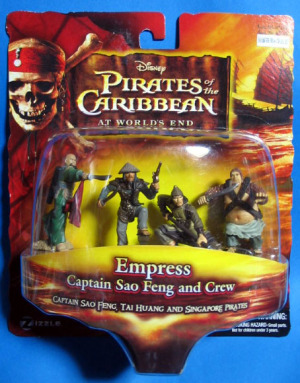 Figurine set / Pirates of the Caribbean At World's End / Empress set / Zizzle Toys