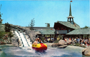 Post Cards / This is Disneyland /MATTERHORN BOBSLED-TOMORROWLAND/('60s)