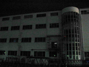 夜の元・交通博物館