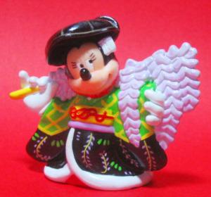 PVC figurine / Kabuki Minnie (Fuji-musume)