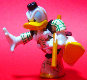 PVC figurine / Kabuki Donald (Benkei)