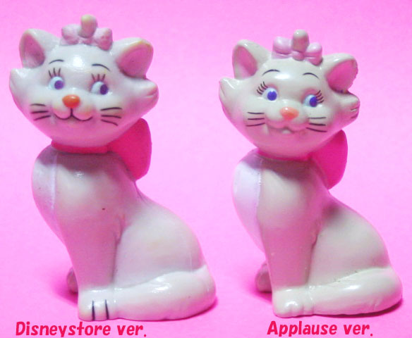 PVC / Marie / left:Disney Store / Right:Applause