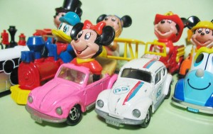 Disney Character mini cars / by tomy