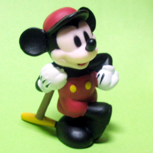 PVC / Mickey Mouse (Mickey's Polo Team/1936)