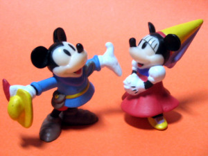 PVC / Mickey and Minnie (The Brave Little Tailor /1939)