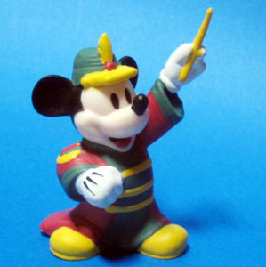 PVC / Mickey Mouse (The Band Concert /1937)
