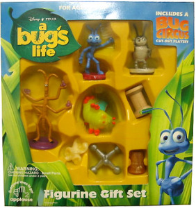 PVC Figurine Gift Set/ A Bug's Life / by Applause (1998)
