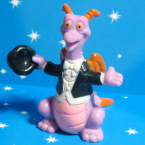 PVC / Figment in dinner jacket (later version) / WDW EPCOT