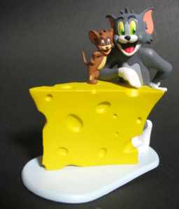 Vignette Figure/ TOM and JERRY - The Cheese / by ORGANIC (JAPAN)