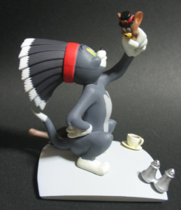 Vignette Figure/ TOM and JERRY - Indian Tom / by ORGANIC (JAPAN)