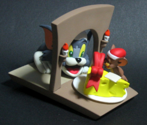 Vignette Figure/ TOM and JERRY - The Present / by ORGANIC (JAPAN)